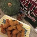 Crocchette di zucca in panatura piccante