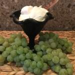 """La """"crema"""" di uva e il Gelato di uva Fragola bianca e Moscato"""