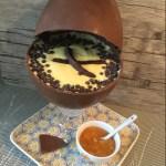 Uovo di Pasqua con sorpresa di mascarpone arancia e cioccolato 🐣