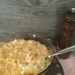 Pasticcio di ditalini rigati con salsiccia fresca al tartufo