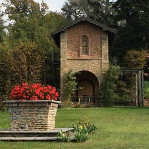 A quiet corner in the park at Poggio Verde