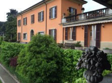 View of the south side of the villa from the Portico Coperto