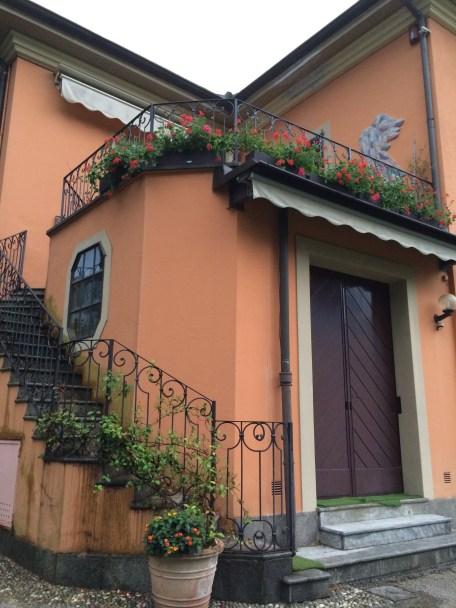 A corner of the villa
