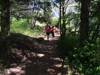 Trail to Piani d'Erna