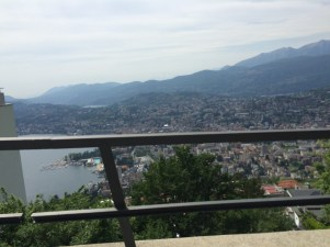 And even higher toward Monte Bré