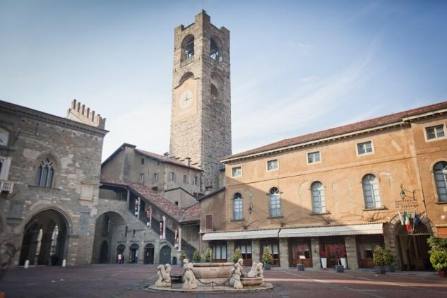 Palazzo Podesta in Bergamo Alto