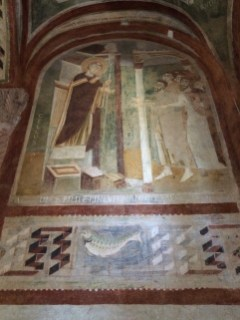 Fresco in the church