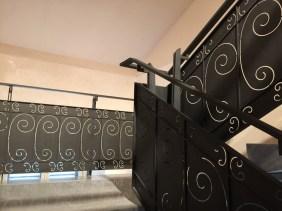 Stairway down from 3rd floor to 2nd floor