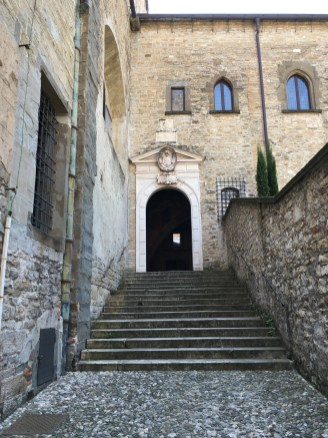 The exit from the Aura della Curia