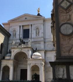 Bergamo Cathedral, between Santa Maria Maggiore and the Palazzo del Ragione