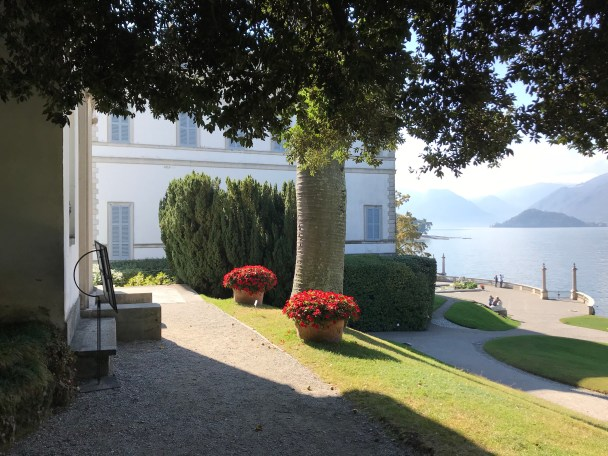 Villa Melzi from the door of the museum