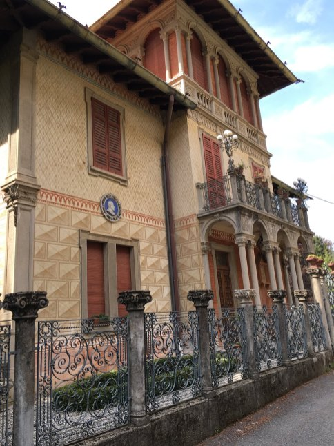 One of the many Brunate Villas