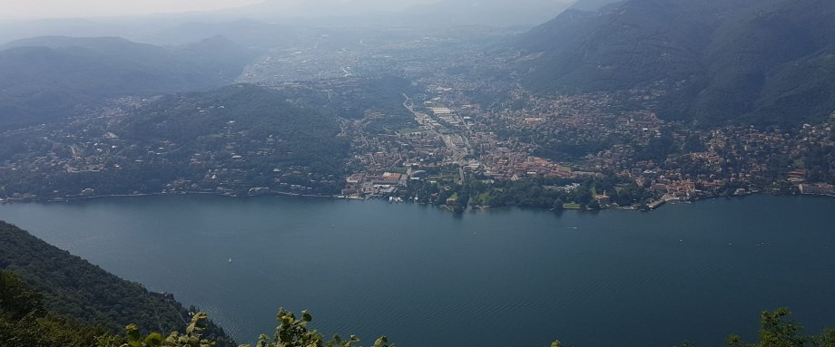 Lake Como from the Lighthouse belvedere