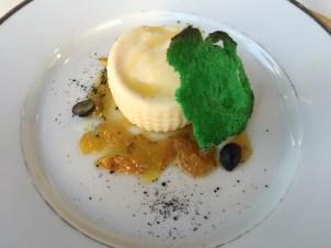 A semifreddo dessert