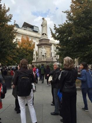 The Piazza della Scala
