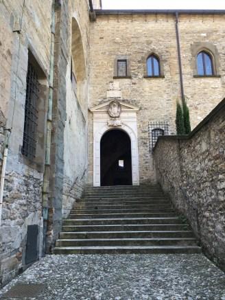 The exit from the Aura della Curia