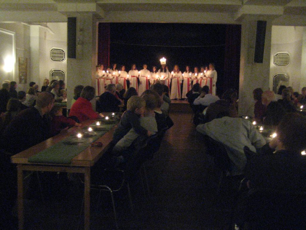 Lucia ed il suo coro
