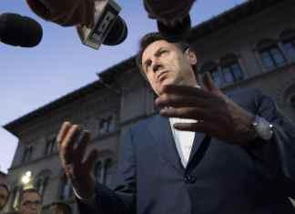 Giuseppe Conte all'Eurochocolate