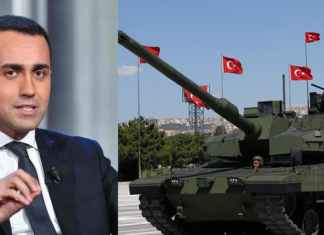 luigi di maio, esercito turco