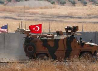 siria, blindato turco