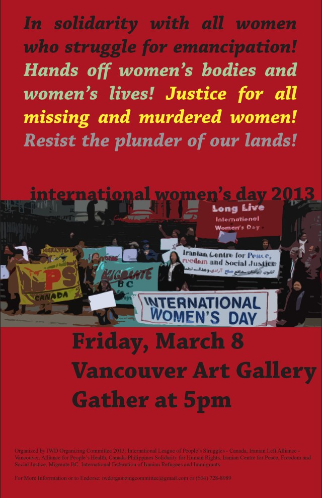 iwd poster Vancouver March 8 2013