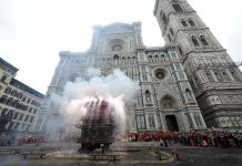Scoppio Carro Firenze 2019 Pasqua orario