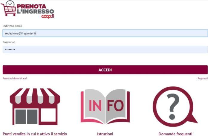 prenota ingresso Unicoop Firenze sito