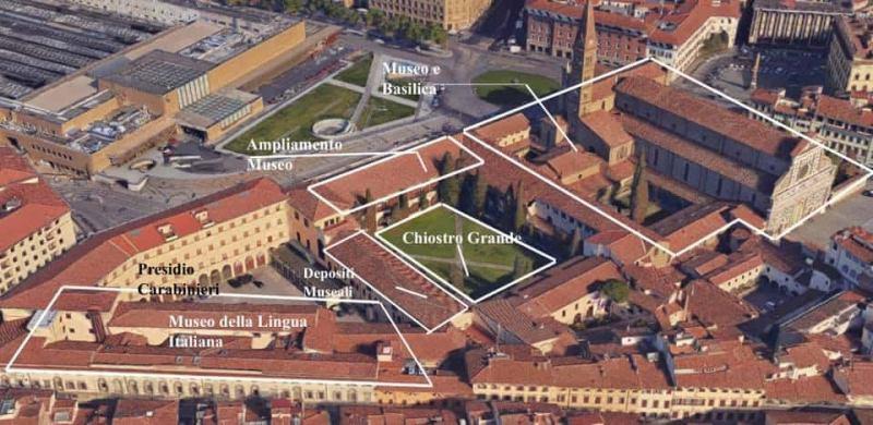 progetto complesso Santa Maria Novella Firenze