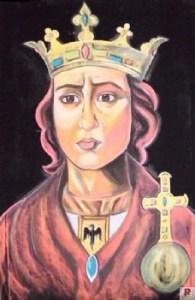 Ritratto della Regina Costanza d'Altavilla