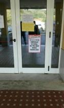 Ospedale Soveria Mannelli ingresso cartelloni notizia senza radiologo