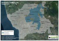 mappa Reventino Trekking Lab stagione 2015