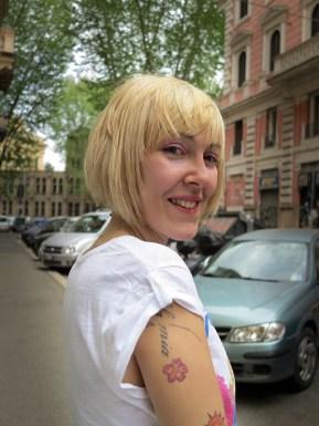 taglio capelli carre biondo il salone di via messina i sargassi#extension a fasce