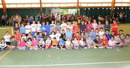 I partecipanti all'edizione 2014 del Campionato Scolastico Bracco Fair Play