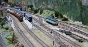 Treni in marcia nella stazione di Desio