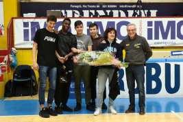 Robur Basket Saronno - Premiazione Claudia Dalla Valle (3)