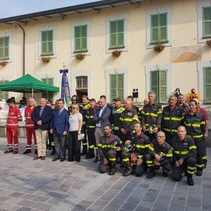 festa pompieri lazzate con andrea monti, stefano candiani, loredana pizzi 09092018