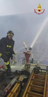 incendio rifiuti quarto 15102018