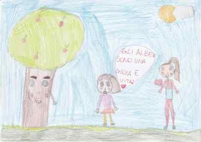20190119 disegni bimbi contro abbattimenti via Roma (16)