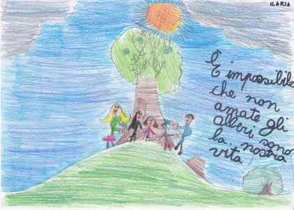 20190119 disegni bimbi contro abbattimenti via Roma (5)