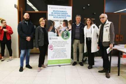 SARONNO VARESE PRESENTAZIONE CAR POOLING SCOLASTICO AL GB GRASSI DI SARONNO