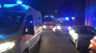 20200125 intossicati pompieri carabinieri ambulanza vigili del fuoco via strafavia (1)
