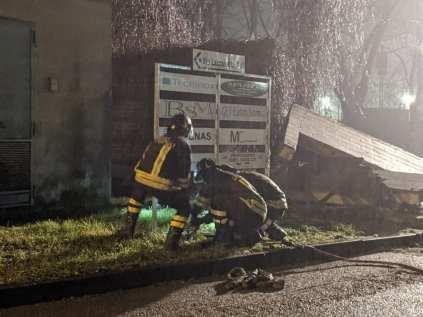 20200217 fuga gas caronno pertusella vigili del fuoco notte (1)