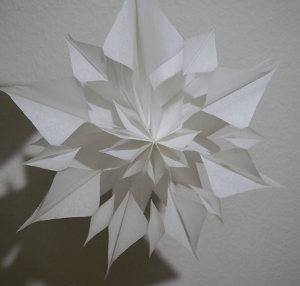 Stern mit Muster