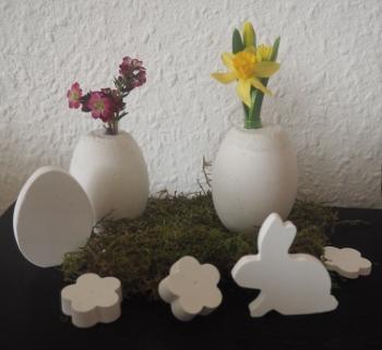 Eiervasen aus Keramikgießmasse