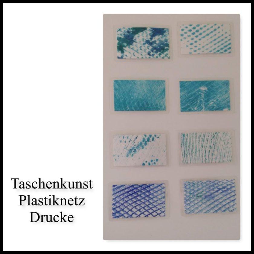 Taschenkunst - Drucke - Plastiknetz