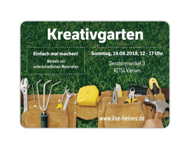 Kreativgarten - 19.08.2018