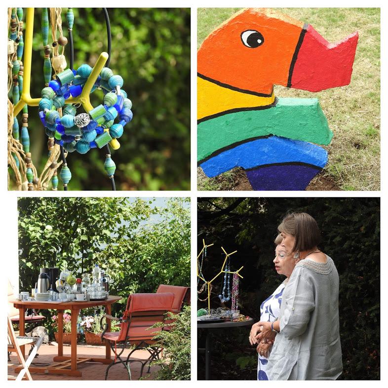 Kreativgarten-Impressionen, Fotos: Inge Chiaradia