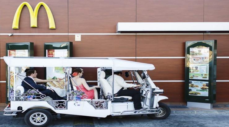 Arriva il McWedding : da ora ci si può sposare al McDonald's