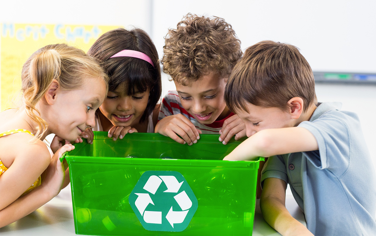 Recycling Home Recycling Basics You Can Teach Your Kids