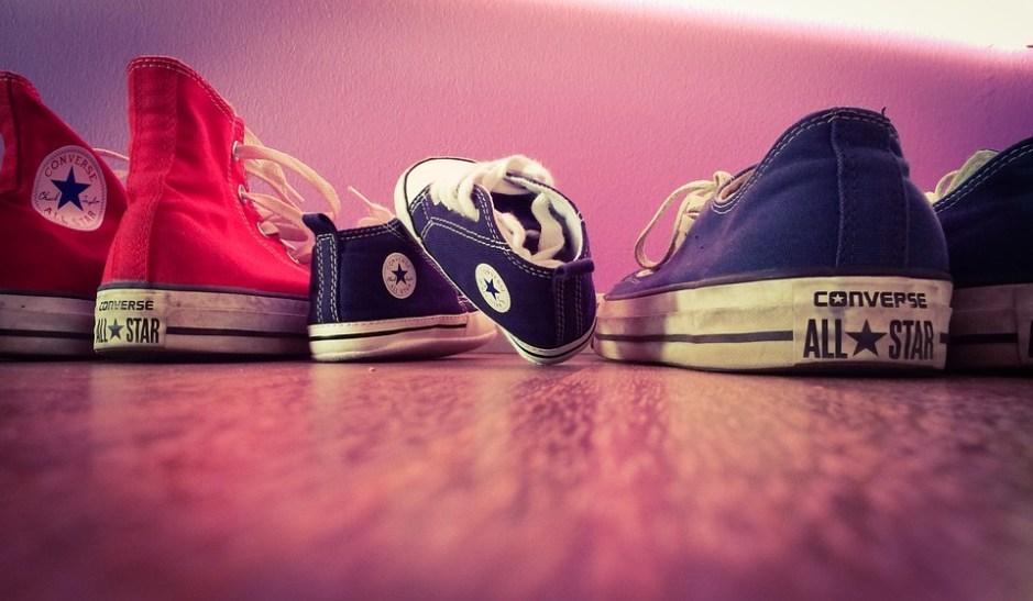 scarpe, bimbo. converse, cliente, immedesimarsi, ecommerce